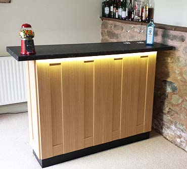 homebars oak range