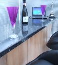 Contemporary-Cherry-With-Standard-Granite-effect-Bar-Top