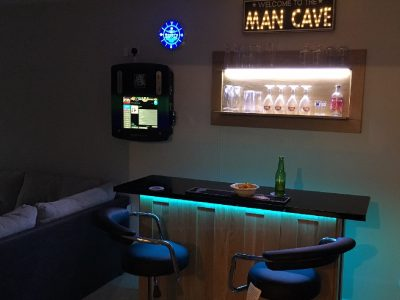Home Bar Company Oak Bar